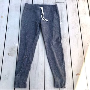 J.Crew Zipper Jogger Sweatpants